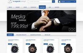 Sklep internetowy E-zegarki